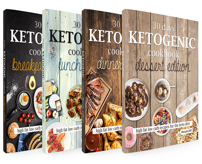Big ketogenic cookbook