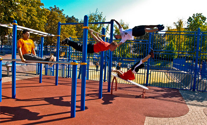 Calisthenics Playground
