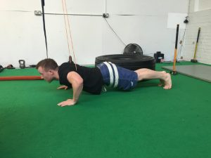 Push-Ups With Bands