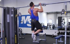 Weighted pull-ups & chin-ups